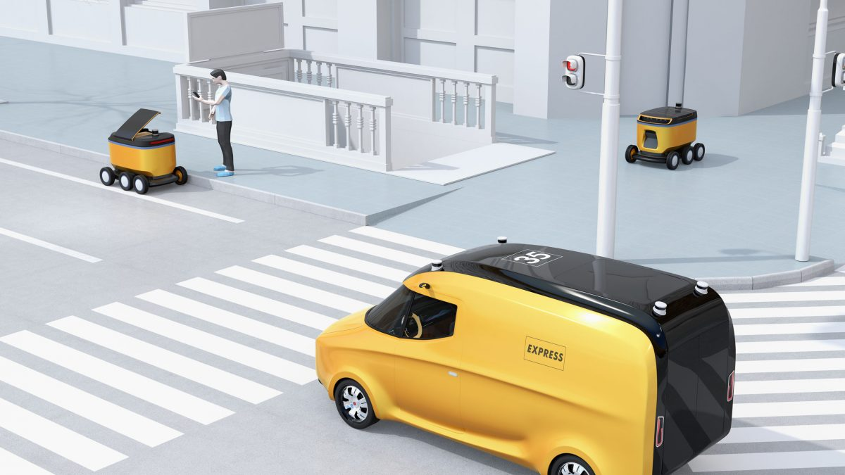 autonomous last mile delivery vehicles